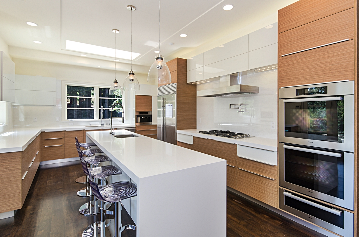 Woodside Exquisite Bay Area Cabinetry